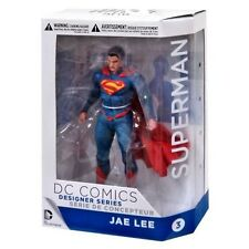 SUPERMAN Figura Action 18cm Designer JAE LEE Originale DC COLLECTIBLES FIGURE