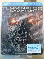 Blu ray steelbook Terminator 4 Salvation renaissance New & Sealed NEUF sans VF
