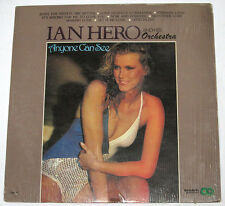 Philippines IAN HERO & HIS ORCHESTRA Anyone Can See LP Record