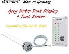 Votronic Grey Water Tank Level Gauge Monitor Meter Sensor RV Camper Van Boat