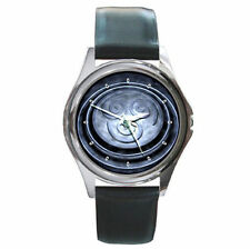 Avatar The Last Air Bender air shinobi crest ultimate leather wrist watch