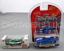1 Badd Ride 05 Ford Mustang GT & Castrol GTX John Force Racing Funny Car Action