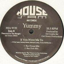 YUMMY - If You Want Me To - 1990 - House Jam HJA 9120 - Usos