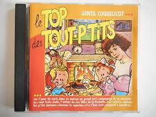 LE TOP DES TOUT-P'TITS : GENTIL COQUELICOT    CD ALBUM PORT GRATUIT