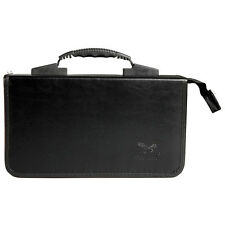 Handle Design 200 Disc CD DVD Holder Case Practical Box Storage Bag Black N