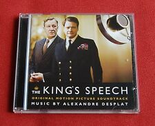 The King's Speech - OST Soundtrack CD - music by Alexandre Desplat - Decca 2011