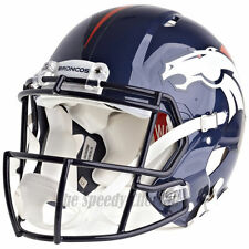 DENVER BRONCOS RIDDELL NFL FULL SIZE AUTHENTIC SPEED FOOTBALL HELMET