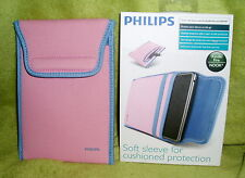 Philips Pink Soft Sleeve for Kindle Fire and Nook Color, Nook Simple Touch NEW