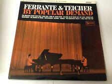 FERRANTE AND TEICHER By Popular Demand LP 12 Track Mono VINYL EX/EX
