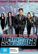Leverage  Season 2 (DVD, 201 4-Disc)**New & Sealed**R4*