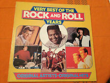 VERY BEST OF THE ROCK and ROLL YEARS - 1981 N.Z. press Vinyl Lp AXIS6449 - EXC+