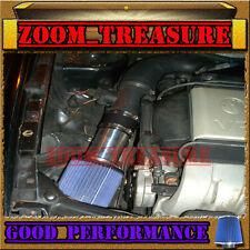 BLACK BLUE 1992-1998 VW GOLF GTI/CORRADO SLC/JETTA/PASSAT 2.8 V6 VR6 AIR INTAKE