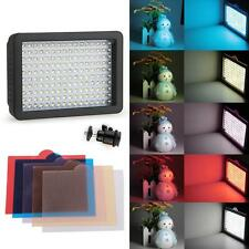 12W 160-LED Video Light Lamp Panel Dimmable for Canon Nikon Camera DV Camcorder