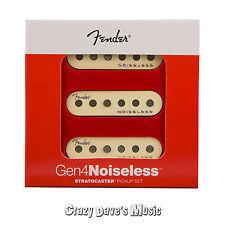 Fender Gen 4 Noiseless Stratocaster Strat Pickups Set NEW!