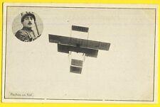 cpa AVIATION Le Pilote AVIATEUR Louis PAULHAN de PÉZÉNAS en Vol Avion GYPAETE