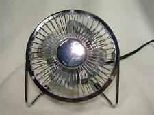 Personal Fan Small Compact Electric Table Desk Home Office Fan- All Metal