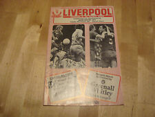 Liverpool v Man City 1981 League Cup Semi Final 2nd Leg