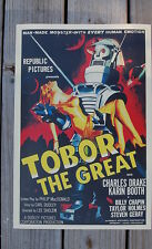 Tobor The Great Lobby Card Movie Poster Charles Drake Karin Booth