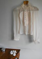 Viktor and Rolf Pink Silk Chiffon Blouse (previously listed at £120)