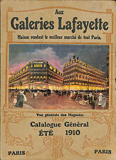 EPAIS CATALOGUE GRANDS MAGASINS DEPARTMENT STORE CATALOG MODE FASHION 1910