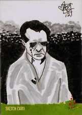 Night of the Living Dead Sketch Card drawn by Matt Zucker