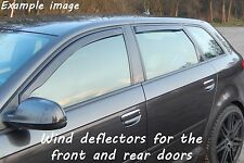 Wind deflectors for Fiat Punto Evo Typ 199 2009-2011 Hatchback 5doors front&rear