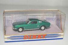 DINKY MATCHBOX DY-16 DY 16 DY16 FORD MUSTANG FASTBACK 1967 GREEN MINT BOXED