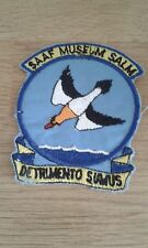 South African Air Force 85 Combat flying school  flight-suit patch SAAF Museum
