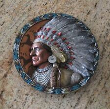 CHIEF JOSEPH COLLECTABLE PLATE by THE BRADFORD EXCHANGE WITH CERTIFICATE