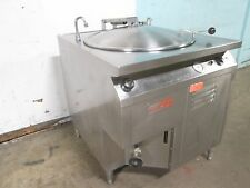 """GROEN"" H.D. COMMERCIAL SELF CONTAINED 40gals ELECTRIC STEAM JACKETED KETTLE"