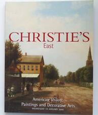 Christie's Auction Catalog Eliza-8337: American Vision January 2000 New York