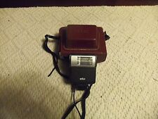 Kodak Signet 50 Camera w/ Field Case & BRAUN MOUMTING FlASH