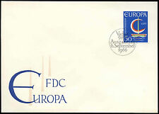 Liechtenstein 1966 Europa FDC First Day Cover #C16547