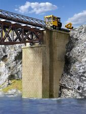 Kibri Kit di costruzione 39750 H0 Teste di ponte universale in muratura, 2 Stück