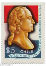 Chile 1976 #903 Bicentenario de la Independencia de Los Estados Unidos MNH