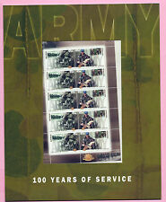 AUSTRALIA 2001 Presentation Pack - THE ARMY - 100 YEARS OF SERVICE M/sheet - MNH
