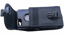 Vertical Nylon Phone Holster Pouch Clip  for Iphone7 w/Otterbox Defender Case on