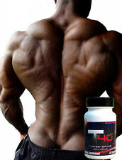 T40-2.0 SUPER MASS Factor TURKESTERONE Muscle Builder Bodybuilding Supplements