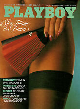 Playboy November/11/1981  AURORE CLEMENT