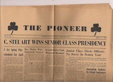 THE PIONEER Parkville High School (MD) March 17, 1955 4-page school newspaper