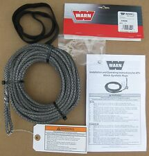 Warn 73599 Synthetic Rope Replacement Repair 3/16 50 ATV Quad RT XT Series Winch