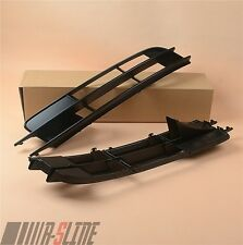 Pair Of Front Bumper Low Intake Grill Turn Signal Grille Panel For AUDI Q7 06-09
