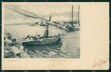 Trapani Città Pescatori Barche cartolina VK1889