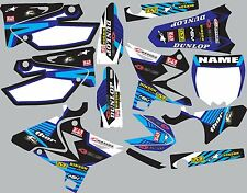 2002-2014 UFO restyled yz125 yz250  YZ 250 Graphics Decal fender shroud stickers