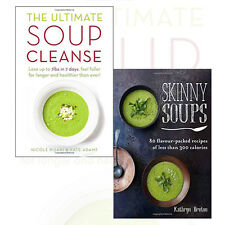 Skinny Soups,The Ultimate Soup Cleanse 2 Books Collection Set Paperback New Pack