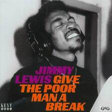Jimmy Lewis - Give The Poor Man A Break (CDKEND 204)