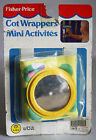 VERY RARE VINTAGE 1988 FISHER PRICE COT WRAPPERS SHATTERPROOF MIRROR TURTLE NEW!