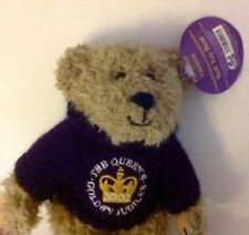 THE QUEEN'S GOLDEN JUBILLEE TEDDY BEAR BNWT HOUSE OF VALENTINA COLLECTION