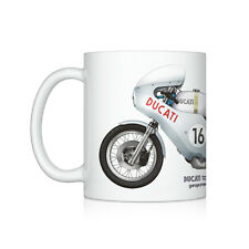 Ducati Smart Imola motorcycle illustration Coffee Mug