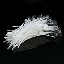20PCS Candle Wicks 20CM COTTON Core Candle Making Supplies Pretabbed